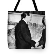 Andre Malraux (1901-1976) Tote Bag by Granger