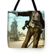 Anne Bonny, 18th Century Pirate Tote Bag