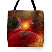 Artist Concept Illustrating The Stellar Tote Bag