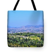 Athens Greece Tote Bag