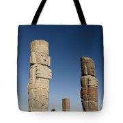 Atlantes Warrior Statues Tote Bag