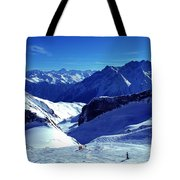 Austria Mountain Tote Bag