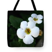Bacopa Named Snowtopia Tote Bag
