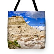 Badlands In Alberta Tote Bag