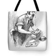 Bank Panic, 1873 Tote Bag