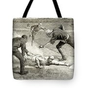 Baseball Game, 1885 Tote Bag