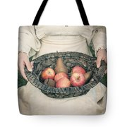 Basket With Fruits Tote Bag