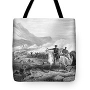 Battle Of Buena Vista, 1847 Tote Bag by Granger