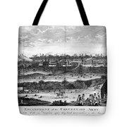 Battle Of Saratoga, 1777 Tote Bag