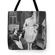 Bedroom Scene, 1920s Tote Bag