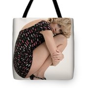 Blond Lady Tote Bag