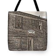 Boat Builders Cottage Tote Bag