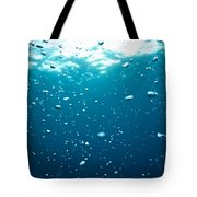 Bubbles Underwater Tote Bag
