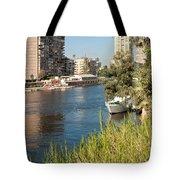 Cairo City Streets Tote Bag