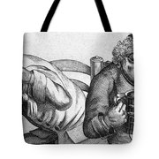 Caricature Of Two Alcoholics, 1773 Tote Bag