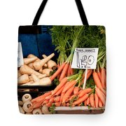 Carrots Tote Bag by Tom Gowanlock