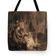 Christ Before Pilate Tote Bag