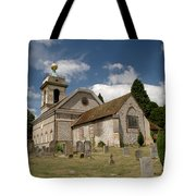 Church Of St. Lawrence West Wycombe  Tote Bag