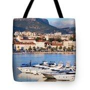 City Of Split In Croatia Tote Bag