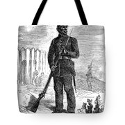 Civil War: Black Troops Tote Bag