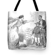 Civil War Cartoon Tote Bag