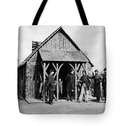 Civil War: Union Officers Tote Bag