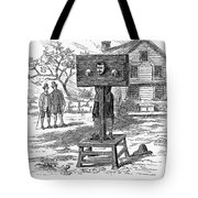 Colonial Pillory - To License For Professional Use Visit Granger.com Tote Bag