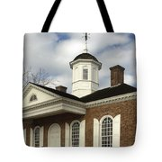 Colonial Williamsburg Courthouse Tote Bag