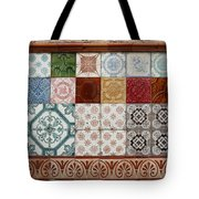 Colorful Glazed Tiles Tote Bag