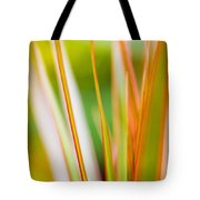 Colorful Tropical Plants Tote Bag