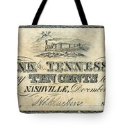 Confederate Currency Tote Bag