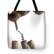 Corks Of French Wine. Tote Bag