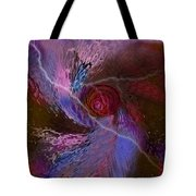 Creation Of A Rose  Tote Bag