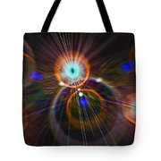 Digital Speed Art Tote Bag