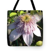 Double Clematis Named Empress Tote Bag