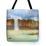Dry Nur Waterfall Tote Bag