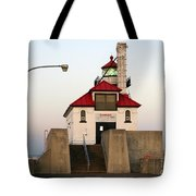 Duluth Mn Lighthouse Tote Bag