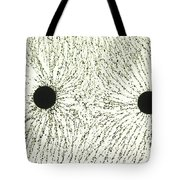 Electric Field Lines Tote Bag