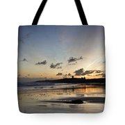 Embleton Bay Sunrise Tote Bag