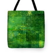 Emerald Heart Tote Bag by Christopher Gaston