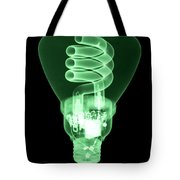 Energy Efficient Light Bulb Tote Bag