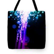 Explosion Of Lights Tote Bag by Setsiri Silapasuwanchai