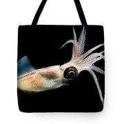 Eye Flash Squid Tote Bag