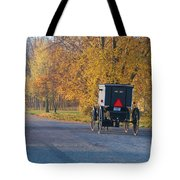 Fall Buggy Tote Bag