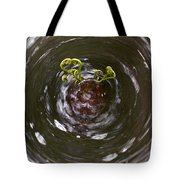 Ferns In A Stream Tote Bag