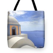 Fira - Santorini Tote Bag by Joana Kruse