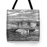 Flood: Clarksville, 1874 Tote Bag