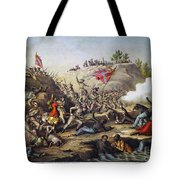 Fort Pillow Massacre, 1864 Tote Bag by Granger