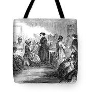 Freedmens School 1866 Tote Bag by Granger
