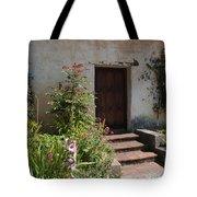 Gardens In Carmel Monastery Tote Bag